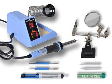 Station analogique de soudage 48 W avec accessoires - vidaXL