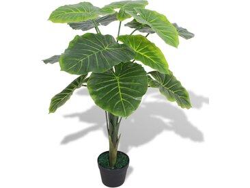 Plante artificielle avec pot Taro 70 cm Vert - vidaXL