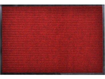 Paillasson PVC Rouge 90 x 60 cm - vidaXL