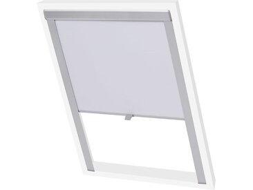 Store enrouleur occultant Blanc M06/306  - vidaXL