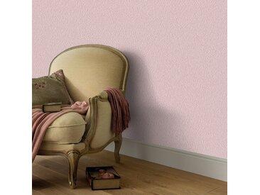 Rouleaux de papier peint Non tissé 4 pcs Rose chatoyant uni - vidaXL