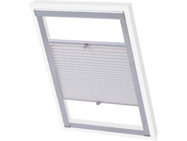 Store plissé Blanc P06/406  - vidaXL