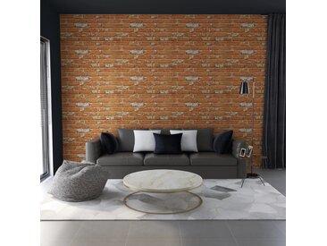 Panneaux muraux 3D design de brique marron clair 11 pcs EPS - vidaXL