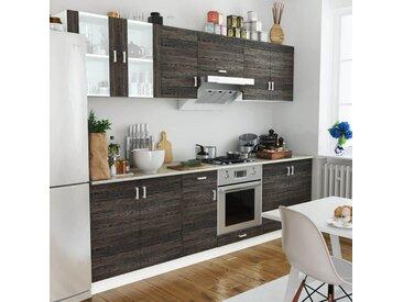 Jeu d'armoire de cuisine 8 pcs Wengé  - vidaXL