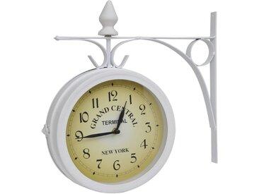 Horloge murale à deux côtés Design classique - vidaXL