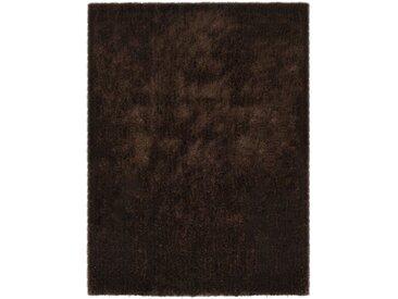 Tapis Shaggy 140 x 200 cm Marron - vidaXL