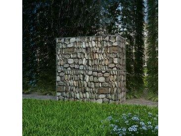 Panier de gabion Acier galvanisé 100x50x100 cm  - vidaXL