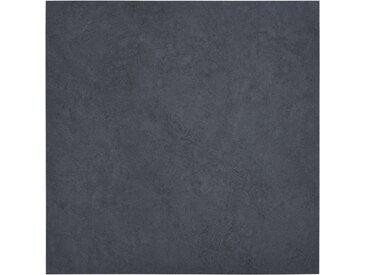Planches de plancher autoadhésives 5,11 m² PVC Noir Marbre - vidaXL