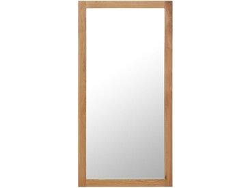 Miroir 60 x 120 cm Bois de chêne massif - vidaXL