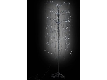 Arbre lumineux LED 150 cm blanc - vidaXL