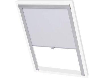 Store enrouleur occultant Blanc P06/406  - vidaXL