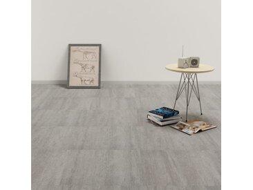 Planche de plancher PVC autoadhésif 5,11 m² Gris pointillé - vidaXL
