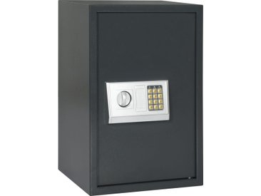 Coffre-fort numérique Gris foncé 40 x 35 x 60 cm - vidaXL