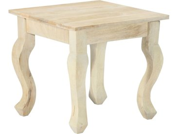 Table d'appoint 43 x 43 x 40 cm Bois de manguier massif - vidaXL