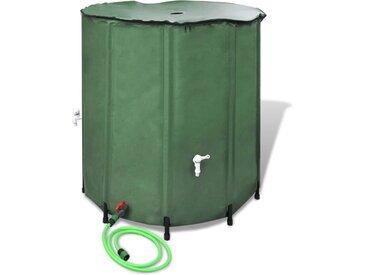 Récupérateur d'eau pluviale pliable 500L - vidaXL