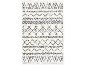 Tapis berbère PP Beige et gris 120x170 cm - vidaXL