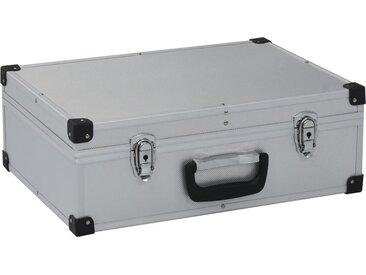 Valise à outils 46 x 33 x 16 cm Argenté Aluminium - vidaXL