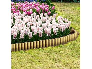 Poteaux de clôture pointus 25 pcs Pin imprégné FSC 5 x 40 cm - vidaXL