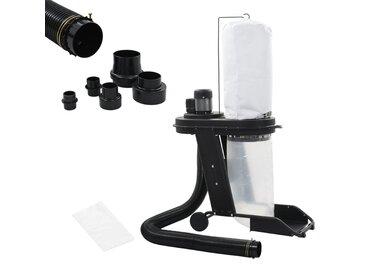 Collecteur de poussière Noir Fer 550 W - vidaXL