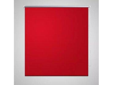Store enrouleur occultant 120 x 230 cm rouge - vidaXL