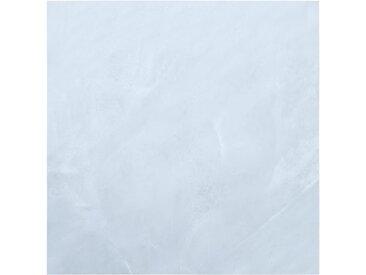 Planches de plancher autoadhésives 5,11 m² PVC Blanc Marbre - vidaXL
