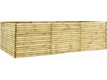 Lit surélevé de jardin 300x50x96 cm Bois de pin imprégné  - vidaXL