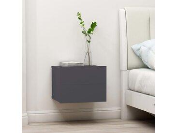 Table de chevet Gris 40 x 30 x 30 cm Aggloméré - vidaXL