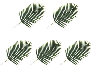 5 pcs Feuilles artificielles de palmier Vert 95 cm - vidaXL