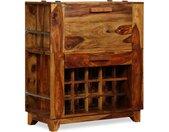 Armoire de bar Bois massif de Sesham 85 x 40 x 95 cm - vidaXL