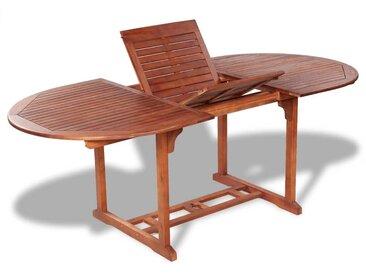 Table de jardin 200x100x74 cm Bois d'acacia massif - vidaXL