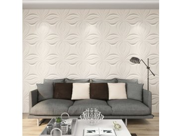 Panneaux muraux 3D 24 pcs 0,5x0,5 m 6 m² - vidaXL