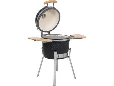 Barbecue à fumoir Kamado Céramique 76 cm - vidaXL