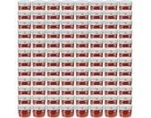Pots à confiture avec couvercles argentés 96 pcs Verre 110 ml - vidaXL