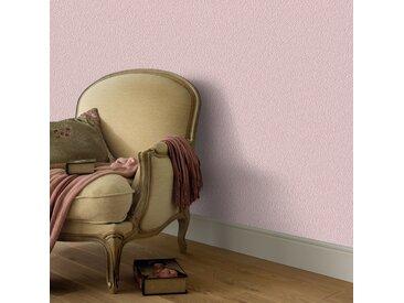 Rouleaux de papier peint Non tissé 2 pcs Rose chatoyant uni - vidaXL