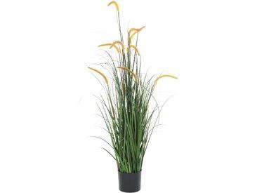 Plante artificielle avec quenouille 135 cm - vidaXL