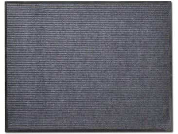 Tapis d'entrée PVC Gris 90 x 120 cm - vidaXL