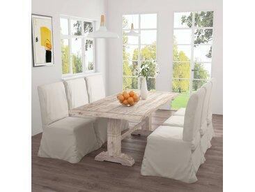 Table de salle à manger 200x100x75 cm Bois de teck solide - vidaXL