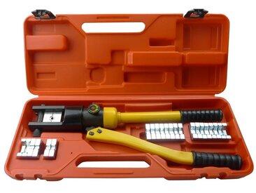 Coffret de presse à sertir/ de sertissage hydraulique - vidaXL