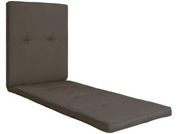 Coussin de chaise longue Anthracite 118x60x5 cm - vidaXL