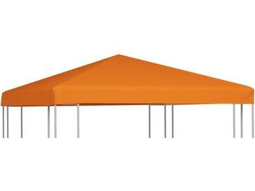 Toile supérieure de belvédère 310 g / m² 3 x 3 m Orange - vidaXL