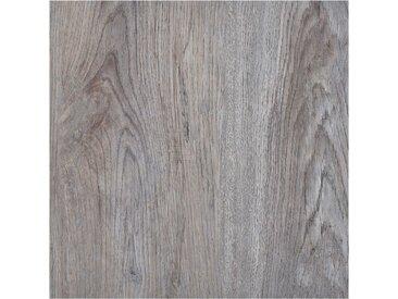 Planches de plancher autoadhésives 5,11 m² PVC Marron clair - vidaXL