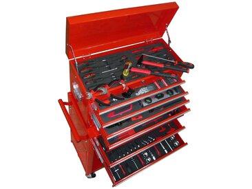 Chariot à outils avec outils 7 couches - vidaXL