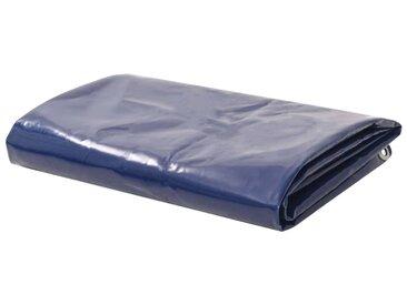 Bâche 650 g / m² 1,5 x 6 m Bleu - vidaXL