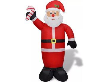 Père Noël gonflable 240 cm - vidaXL