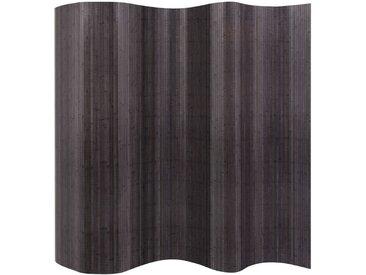 Cloison de séparation Bambou Gris 250 x 165 cm - vidaXL
