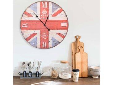 Horloge murale vintage Royaume-Uni 60 cm - vidaXL