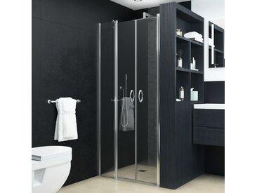 Portes de cabine de douche ESG 100x185 cm - vidaXL