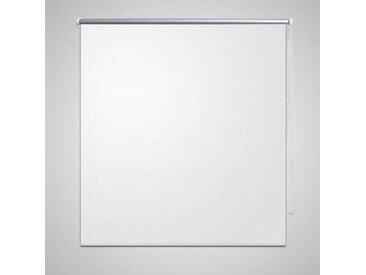 Store roulant 160 x 175 cm Blanc - vidaXL