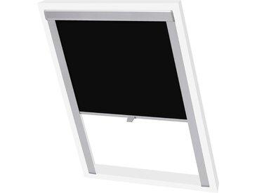 Store enrouleur occultant Noir P06/406  - vidaXL