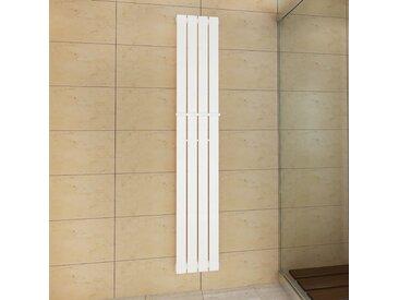 Porte-serviette 311mm + Radiateur panneau blanc 311mm x 1800mm - vidaXL